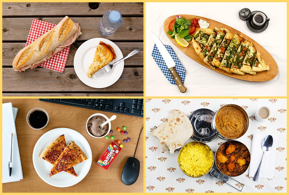 A four meal sample - France